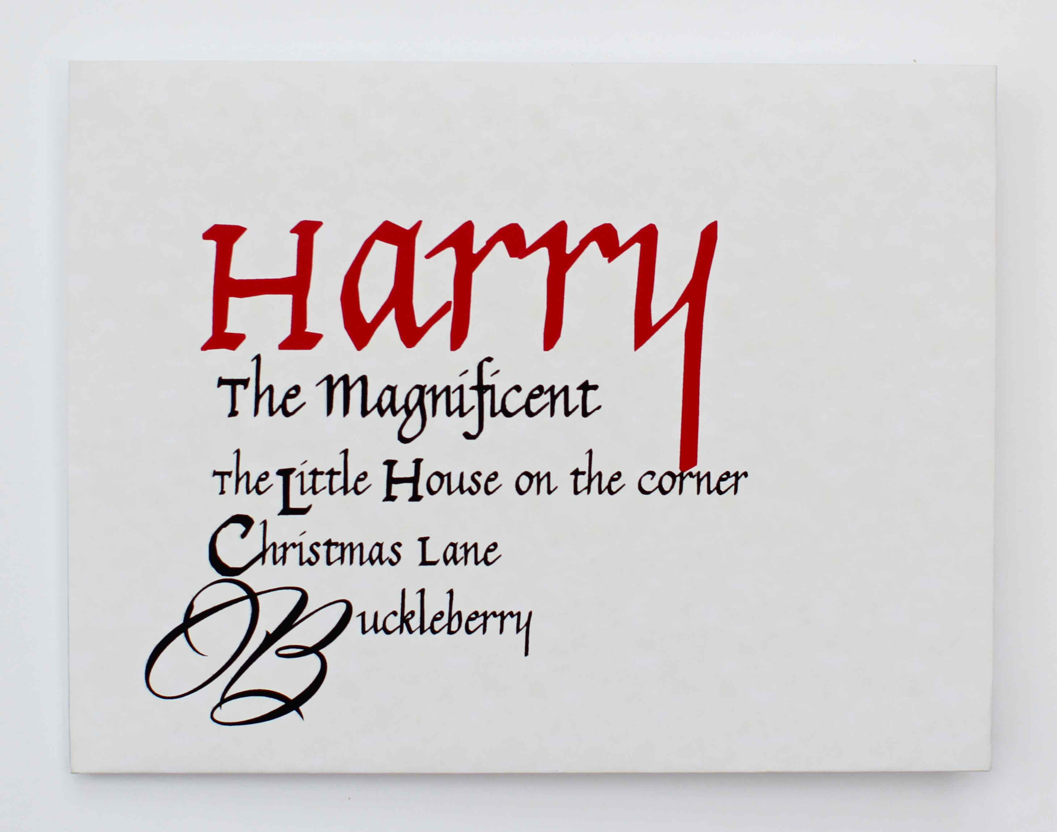 harry-calligraphy-envelope